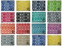 Cotton Kantha Quilt Ikat Print Gudari All Color Bedding Blanket Twin/ King Throw