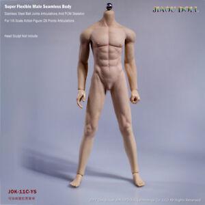 1/6 Scale JIAOU DOLL Male Seamless Skeleton Muscle Body Action Figure JOK-11C-YS