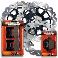 Honda F+R Brake Rotor + Pads CBR 929 RR [2000-2001] CBR 954 RR [02-03] Fireblade