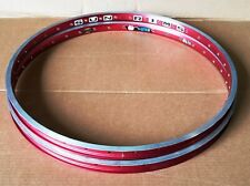 "1- NOS Sun Rims 26"" Pre-Sun Ringle weld 36 H Presta MTB ABT Race Use Only RED"