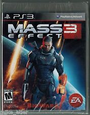 Mass Effect 3 (Sony Playstation 3, 2012) Factory Sealed