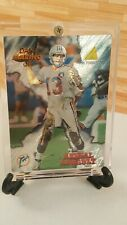 "Pinnacle 1995 ""Aerial Assault"" Dan Marino NFL Trading Card #AA8 Miami Dolphins"