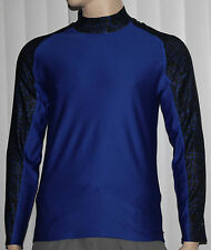 Layer 8 Men's Qwick-Dry Base Layer Mock Neck Long Sleeve Shirt several choices *