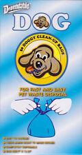50 Lemon Scented Doggie Poop Clean Up bags. Easy tie handles Pet Waste Disposal