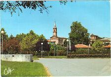 31 - cpsm - VILLENEUVE TOLOSANE - L'église