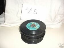 50 Jukebox 45 rpm Records 1960's 70's Rock Roll #A5