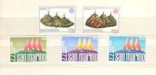 P7411 - SAN  MARINO 1977 - SERIE COMPLETE ESPOSIZIONE INTERNAZIONALE + EUROPA