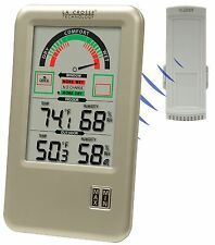 WS-9170U-IT La Crosse Technology Comfort Meter IN/OUT Temp/Humid with TX45UTH-IT