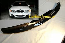 For 2001-2006 BMW E46 M3 add CSL Style Carbon Fiber Front Lip Spoiler Sonictrade