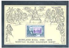 NORFOLK ISLAND 1979 Sir Rowland Hill S/S