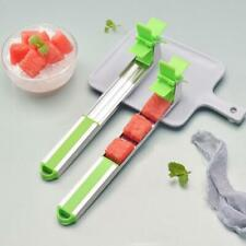 Watermelon Slicer Cutter Knif Tongs Corer Fruit Melon Stainless Steel Tool.