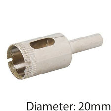 Pro 20mm Polvo de Diamante Core Drill Bit & Caña – azulejos, mármol, vidrio Cortador del agujero de sierra