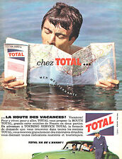 PUBLICITE ADVERTISING 015  1962  TOTAL    le TOURING SERVICE TOTAL