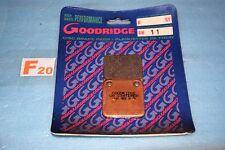 2 plaquettes de frein Goodridge YAMAHA 200 BLASTER 350 BANSHEE GRIZZLY 400 450