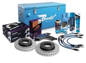 "Bendix Ultimate 4x4 Brake Upgrade Kit Front (Suits 2"" Lift) U4WD-BUK9+2"