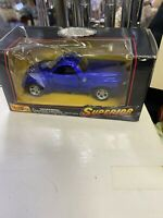 Maisto Superior Motorized 2000 Chevrolet SSR Blue Truck 1:43 Scale New