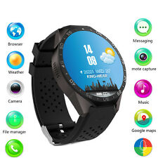 KW88 Android Quad Core Bluetooth Smart Watch 3G Phone mate WIFI GPRS Google now