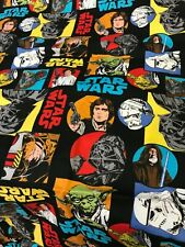 "18"" Star Wars Christmas Tree Skirt black yellow Blue red"