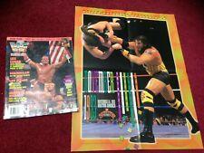 WWF WWE Magazine NOVEMBER 1993 Summer Slam Lex Luger + Catalog + Poster