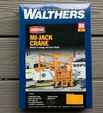 WALTHERS 1/87 HO SCALE CORNERSTONE MI-JACK CRANE MODEL KIT ITEM # 933-3122 F/S