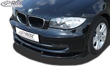 RDX Frontspoiler VARIO-X für BMW 1er E81 / E87 ohne M-Technik ab 2007