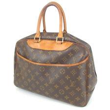 Authentic LOUIS VUITTON M47270 monogram Deauville Handbag PVC[Used]