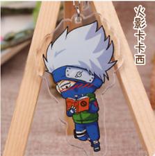Hot Japan Anime Naruto Hatake Kakashi Acrylic Key Ring Pendant Keychain Gift