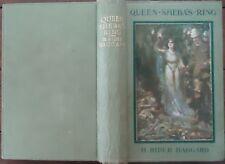 Queen Sheba's Ring by H. Rider Haggard - 1910 - Hardcover, No Jacket