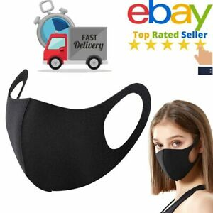 Face Mask Washable UK Reusable Masks Protection Cover Breathable Double Layer