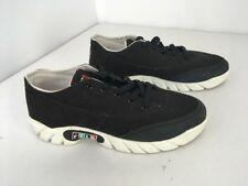 VTG 90s 95 FILA SZ 11.5 Spell Out Flag RED GREEN BLACK Canvas DAD SHOES RARE