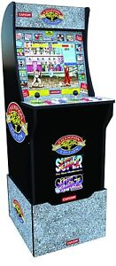 STREET FIGHTER 2 Arcade1up Retro Video Game Machine 4ft - 3in1 Arcade WITH RISER