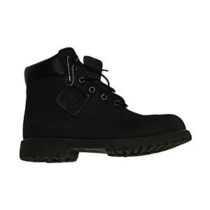 Timberland Junior Size 6 Black 6-Inch Premium Waterproof Boots 12907 Fast Ship
