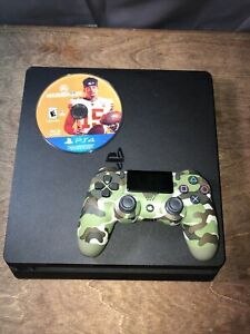 PlayStation 4 Slim 500gb With Madden 20 And Camo Controller