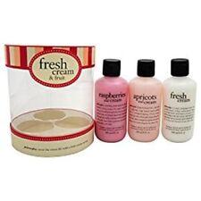 Philosophy Women's Fresh Cream and Fruit Set, 3 Count New