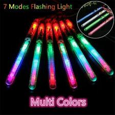 150 Pack Light-Up Acrylic Sticks Led Rally Rave Tube Glow Baton Wand Multicolor