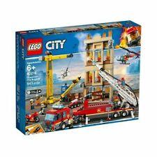 LEGO Downtown Fire Brigade Set (60216) 60216 943 pcs 6+ NIB new