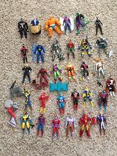 Vintage X-Men, Superhero Figures..Carnage, green goblin, venom , archangel, etc