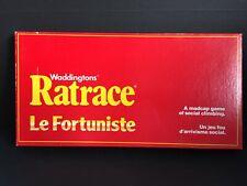 Vintage 1974 RATRACE Rat Race Board Game Waddingtons*  Bilingual * Great Shape