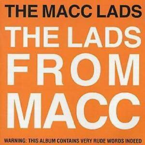 The Macc Lads : Lads From Macc CD (1999) Highly Rated eBay Seller Great Prices