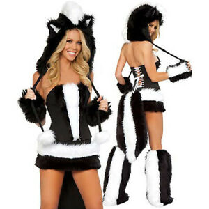 Naughty Skunk Costume