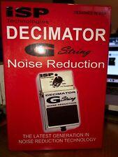 ISP Technologies Decimator G-String noise reduction gate pedal OPEN BOX