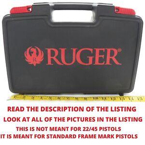 Genuine Ruger Standard Mark 1 2 3 4 Hard Pistol Case Mk I II III IV