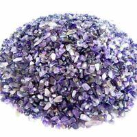 100g Natural Purple Tumbled Amethyst Quartz Crystal Bulk Stones Healing Reiki
