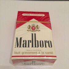 """Ancien paquet de cigarettes plein """"MARLBORO""""pour collection"""