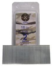 CoFast 18 Ga 2 inch Straight Finish Brad Air Nails fit Most 18 Ga Nailers 2M