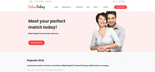 Responsive Dating Website, Complete With Built-In Chatroom