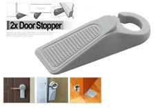 2X Door Stop Large Rubber Door Stopper Wedge Door Jam Catcher Block Home Office