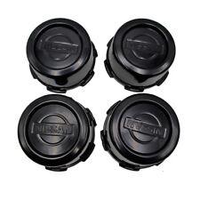 Wheel Center Cap Cover Trim Black 4 Pc Fits Nissan Frontier Pathfinder 1986 - 95