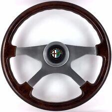 ORIGINALE Atiwe Cerchio in legno 370mm STERZO ruota ALFA ROMEO ALFETTA GIULIETTA