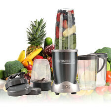 Magic PRO 900W Nutri Flash Extractor Bullet Blender 15 Pc Superfood Blender Gray